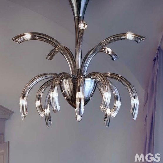 Modern Colored Glass Chandeliers Colored Glass Chandelier
