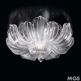 Crystal ceiling lamp