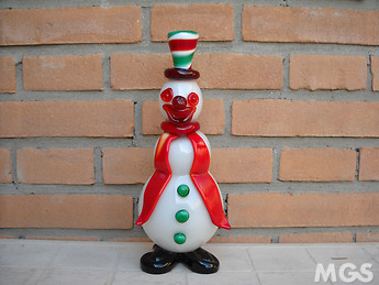 SnowMan Clown Big