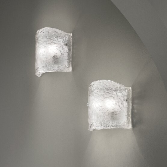 Buy Smoked Venetian Wall Light from the