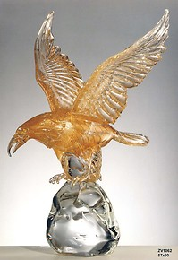 Eagle with all 24k gold